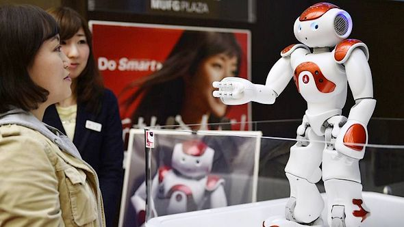 Customer service robot debuteert in Japan