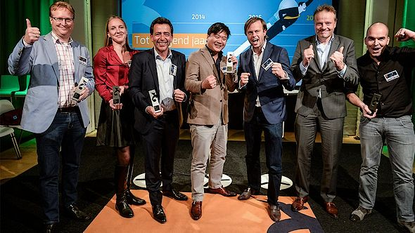 Coolblue, FINTREX, ContactCare en Voiceworks winnen FD Gazellen Award 2015