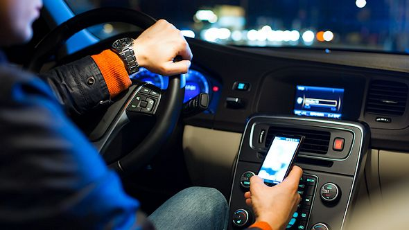 Mobile experience in vizier BMW Nederland