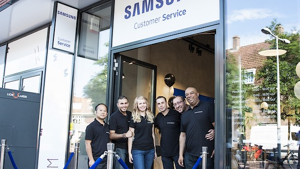 Samsung opent Service Center in Amsterdam