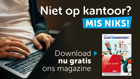 CustomerFirst & corona: nieuwste magazine gratis te downloaden