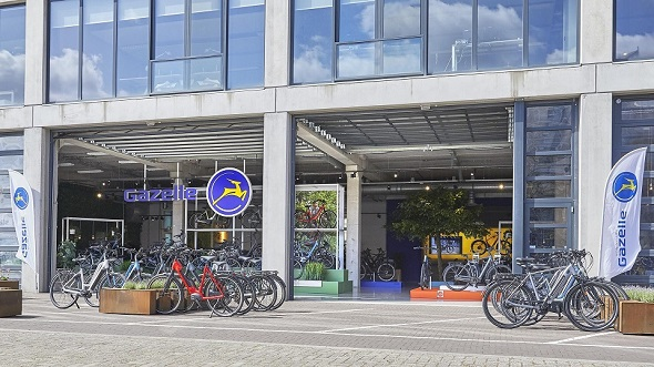 Gazelle opent in Haarlem zesde Experience Center